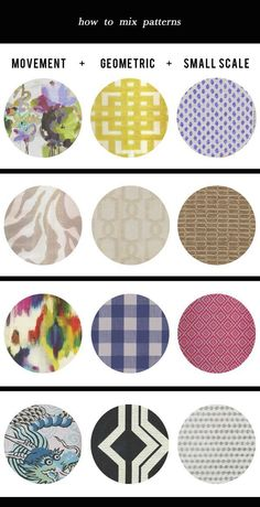 Fool proof formula for mixing patterns in your home!