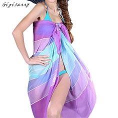 2016 Hot Casual Beach Towel Women Fashion Soft Thin Chiffon Silk Scarf Flower Printed Scarves Summer Wrap Shawl Wholesale,Jan 10