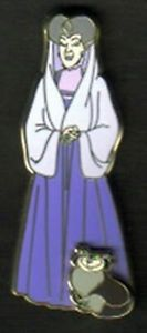 DSF Disney Lady Tremaine Lucifer Cinderella's Evil Step Mother Le 150 Pin RARE | eBay