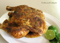 Southwestern Roasted Chicken - Making this this week. One chicken gets me through several meals. Great Recipes, Dinner Recipes, Favorite Recipes, Healthy Recipes, Whole Roasted Chicken, Stuffed Whole Chicken, Roast Chicken Recipes, Keto Chicken, Mexican Food Recipes