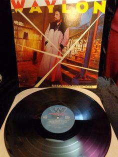1984 WAYLON ~~ Never Could Toe The Mark ~~ LP RCA RECORDS Mint LP