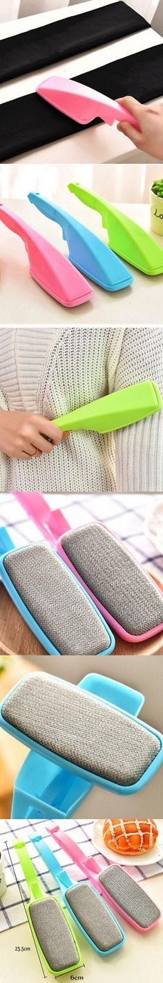 Home Furnishing Environmental of Everyday life Dust Sticky  Device Clothing Creative Multifunction Portable Flannel Fiber Brush