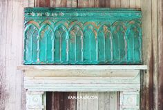 Tin wall piece or headboard handmade on Etsy, $225.00