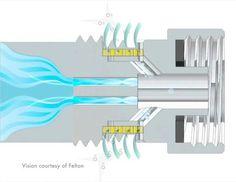 """¿Ducha sin Agua? (o que usa menos)  Esta """"ducha sin culpa"""", según la define la empresa, """"engaña"""" al usuario, al introducir grandes burbujas de aire en el chorro de agua, de forma que la sensación es la misma, aunque el flujo es sólo de la mitad. Aunque el concepto de introducir aire en el flujo de agua no es nuevo, """"la tecnología detrás de nuestro dispositivo permite que Oxijet funcione con las duchas existentes. Alternativas para cuidar el vital elemento."""