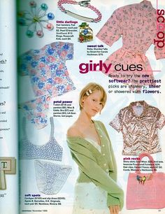Discover recipes, home ideas, style inspiration and other ideas to try. Fashion Mag, 90s Fashion, Retro Fashion, Vintage Fashion, Fashion Outfits, Early 2000s Fashion, Poses References, Seventeen Magazine, Fashion Catalogue