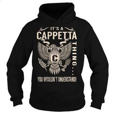 Its a CAPPETTA Thing You Wouldnt Understand - Last Name, Surname T-Shirt (Eagle) - #gift ideas for him #husband gift