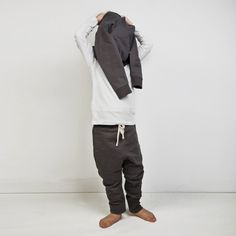 Gray Label, organic apparel for the little minimalist. - BAGGYPANT