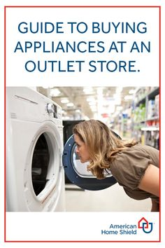 Guide to Buying Appliances at an Outlet Store | Learn how to find the best appliances without spending or stressing more. Have you bought appliances from an outlet store? Did you save money? | #HomeMattersBlog |