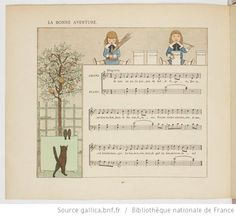 Vieilles chansons et rondes pour les petits enfants, notées avec des accompagnements faciles / par Ch. M. Widor ; Illustrations de M. Boutet de Monvel - 48