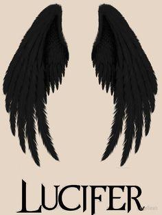 """Lucifer"" Classic T-Shirt by Maze Lucifer, Lucifer Wings, Tom Ellis Lucifer, Wings Wallpaper, Angel Wallpaper, Red Aesthetic, Aesthetic Pictures, Wallpaper Bonitos, Ange Demon"