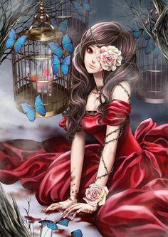 girl art illustration