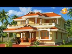 traditional house plans in india ; traditionelle hauspläne in indien traditional house plans in india ; House Paint Design, Exterior Paint Colors For House, Dream House Exterior, Modern House Design, Exterior Houses, Exterior Colors, Paint Designs, Outside House Paint, House Outside Design