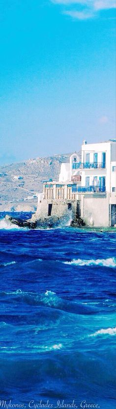 Mykonos - Greece - oh, those amazing blues!