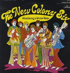 """""""Attacking A Straw Man"""" (1969, Mercury) by The New Colony Six."""