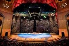"""Bellagio Theatre in Las Vegas: """"O"""" Cirque du Soleil  Impossible to describe how jaw dropping this show is!"""
