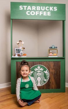 Mom Builds Mini Target and Starbucks In Her Daughter's Playroom Modern Playroom, Baby Playroom, Playroom Organization, Playroom Flooring, Playroom Furniture, Playroom Decor, Playroom Ideas, Playroom Table, Wall Decor