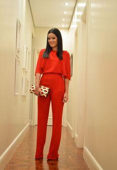 Blog da Mariah - Macacão Vermelho - Maravilhosoooo!!!