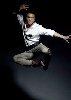 "Collin Chou co-starring in the Jet Li/Jackie Chan epic ""The Forbidden Kingdom""."