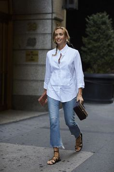 New York Street Style, Spring Street Style, Spring Summer Fashion, Mode Outfits, Casual Outfits, Fashion Outfits, Womens Fashion, Fashion Weeks, Fashion Tips