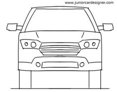 59 Best Car Drawing For Kids Images In 2018 Car Drawings Drawing