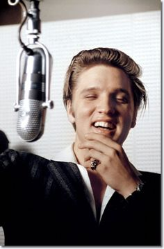 Elvis Presley New York July 2, 1956 ... I love the old pictures of him, when he seems.... happy