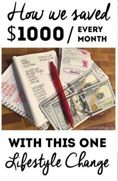"""This expense was """"eating"""" up a huge chunk of our monthly budget-- and we had no idea! With this one change we were able to save enough money to live comfortably on one income so I could be a SAHM. - The Soccer Mom Blog"""