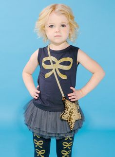 Rock Your Baby French Bow Tank Top
