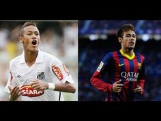 Video of Neymar at Santos and Barcelona https://www.youtube.com/watch?v=UPE5QoEGBUA