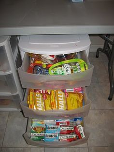 Stockpile: More Drawers! (medicine, makeup, etc.)