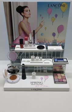 POPAI Awards Paris 2016 - DISPLAY SPRING COLLECTION MAQUILLAGE 2015 - LANCOME - GAELLE PRIVAT LANCOME #MPV2016