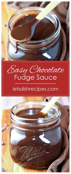 Easy Chocolate Fudge Sauce Easy Chocolate Fudge Sauce Recipe: All you need is three simple ingredients to make rich and decadent chocolate fudge sauce at home. Perfect for topping ice cream, cheesecake and so much more! Chocolate Fudge Sauce, Decadent Chocolate, Chocolate Desserts, Chocolate Heaven, Dessert Dips, Best Dessert Recipes, Fun Desserts, Keto Friendly Desserts, Homemade Sauce