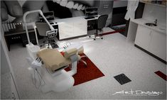 ART DESIGN Интериорен Дизайн - Бургас, София, Русе, Варна. | Зъболекарски кабинет-Равда