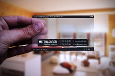 Check out Transparent Yourube Business Card by Marvel on Creative Market
