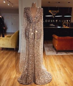 Charming Sequin Sparkly Shinning Long Deep V Neck Modest Simple Unique Prom Dresses, Charming Sequin Sparkly Shinning Long Deep V Neck Modest Simple Unique – SposaBridal Source link Unique Prom Dresses, Elegant Dresses, Pretty Dresses, Formal Dresses, Gold Wedding Dresses, Beautiful Gowns, Beautiful Gorgeous, Dream Dress, Look Fashion