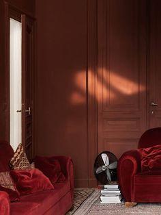 Marsala, Pantone color of the year 2015 Estilo Interior, Flat Interior, Apartment Interior Design, Modern Interior Design, Interior Styling, Pantone 2015, Marsala Pantone, Pantone Color, World Of Interiors