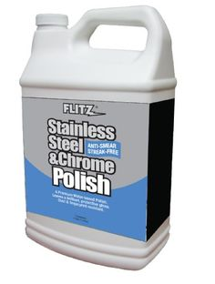 Flitz SS 01310-3A Stainless Steel Polish - 1 Gallon Refill Bottle, (Pack of 3) - http://www.productsforautomotive.com/flitz-ss-01310-3a-stainless-steel-polish-1-gallon-refill-bottle-pack-of-3/