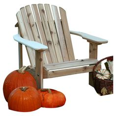 Wood Adirondack chair. Made in the USA.  Product: Adirondack chairConstruction Material: HardwoodCol...