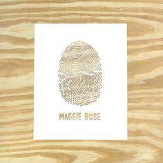 fingerprint paper cut by lori danelle, via design sponge
