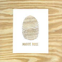 fingerprint paper cut by lori danelle, via design sponge