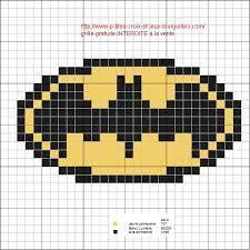 Grille : spiderman et batman – Elylou crochette Cross Stitch Games, Cross Stitch Baby, Pony Bead Patterns, Crotchet Patterns, Pixel Pattern, Pattern Art, Pixel Art Super Heros, Logo Batman, Stitch Cartoon