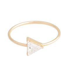 BABY D TRIANGLE - white | MARGOVA Jewellery