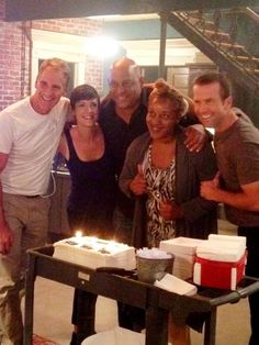 NCIS New Orleans on the set❤❤❤