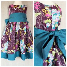 Free dress pattern and tutorial, gorgeous for special occasions for your little princess.