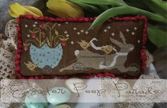 Country Stitches/With Thy Needle & Thread ~ Easter Peep Parade