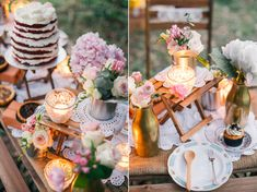 Dreamy and Rustic Wedding Picnic Inspiration