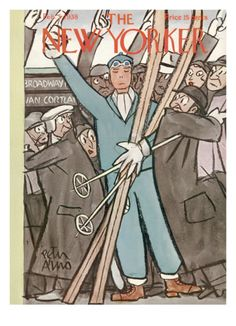 The New Yorker Cover - February 5, 1938 Giclee Print by Peter Arno at Art.com