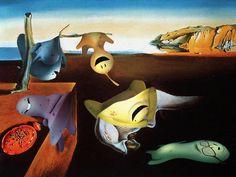Today May 11, in 1904, was born Salvador Dali, one of the most important surrealist painters, and as a tribute the Glumpers have gone into one of his famous paintings! -- Un día como hoy en 1904 nació Dali, uno de los más importantes pintores surrealistas, y como homenaje los Glumpers se han colado en uno de sus cuadros más conocidos! Por que a lo s dibujos animados también les gusta el arte y la pintura!