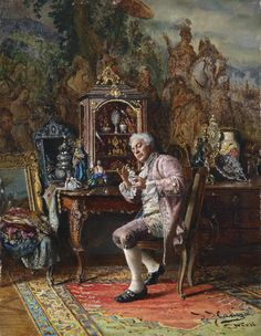 Johann Hamza (1850-1927) — The Art Lover