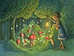Fairy Ring - Children's Illustration by Emma Allen