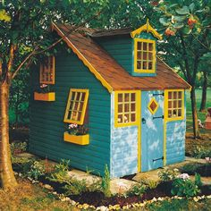 This timber playhouse has been manufactured from smooth planed whitewood pine from sustainable forests. For anyone wishing to simply admire their playhouse rather than building it we can arrange an installation service which can be chosen from the drop down selection boxes above. | eBay!